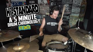 Hi-Standard's entire career covered from front to back in 5 minutes...