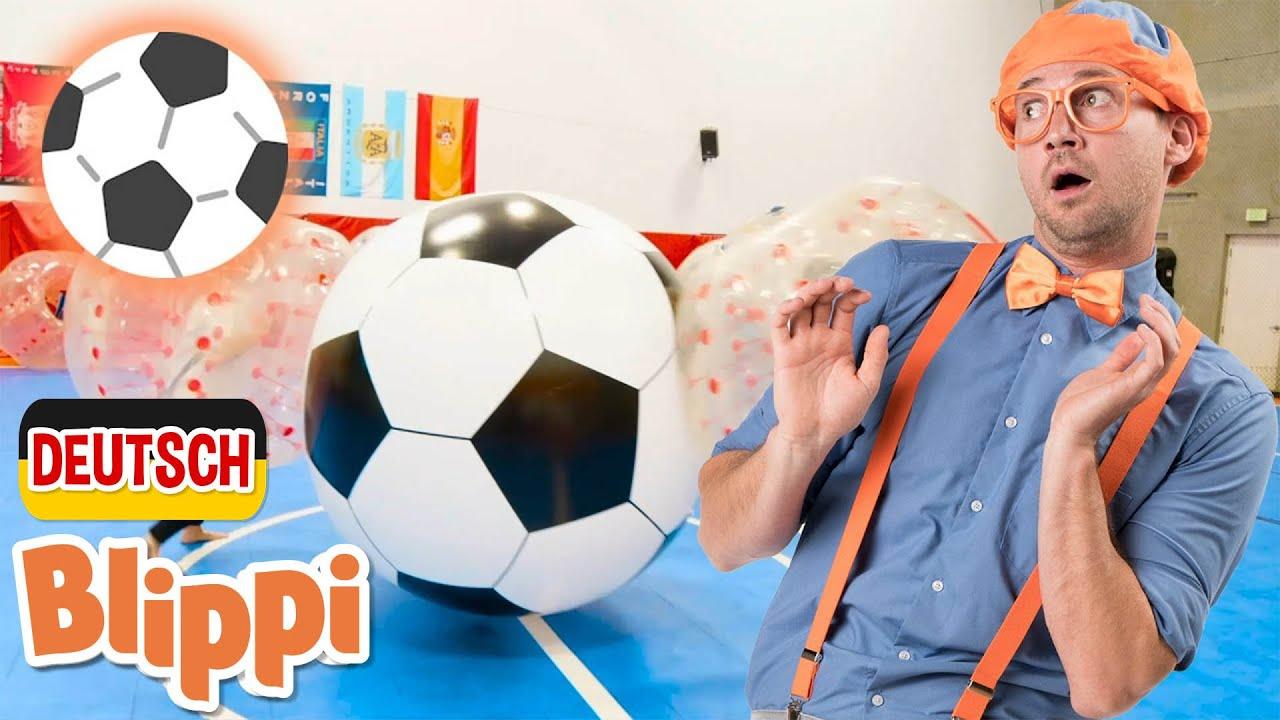 Blippi Deutsch - Sport Lied (Fußball Lied) | Abenteuer und Videos für Kinder
