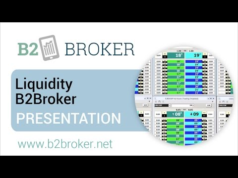 Liquidity B2Broker - Presentation :: B2Broker 📈 Liquidity and Forex Tech Provider