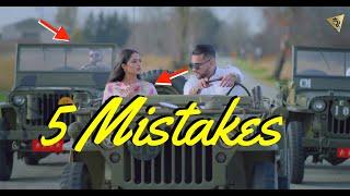 Chitta Kurta Funny Moments 5 Fixes Karan Aujla Gurlez Akhtar Mistakes in Clips
