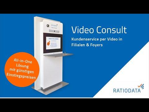 Ratiodata Video Consult - Nicht vor Ort und trotzdem persönlich