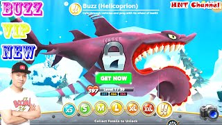 Buzz IS BACK!!! Mr Snappy Hungry Shark World HNT chơi game #5 hungry shark world game new 100