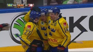 Westerholm visar upp starka handleder - trycker in 3-1 till Sverige - TV4 Sport thumbnail
