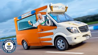 Fastest Ice Cream Truck with Edd China - Guinness World Records