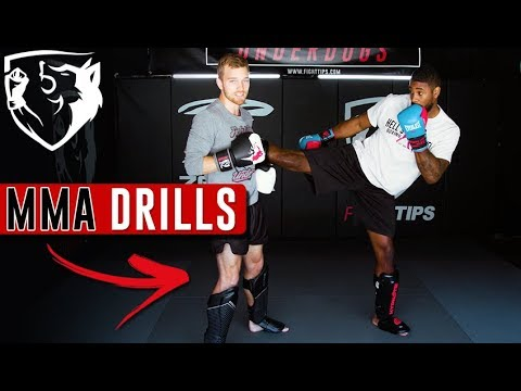 Dutch Kickboxing Partner Drill -- Training for Muay Thai & MMA