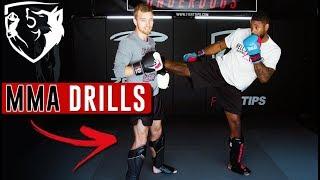 Dutch Kickboxing Partner Drill -- Training for Muay Thai & MMA