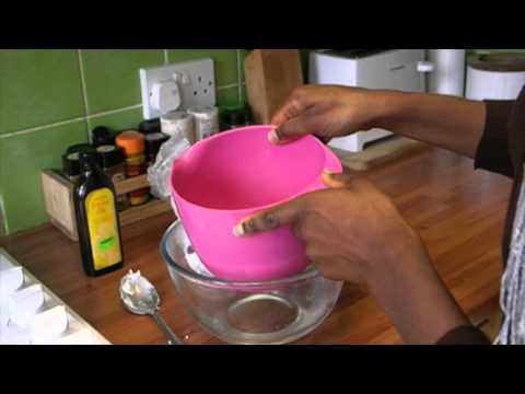 Whipped shea butter recipe for natural 4c hair