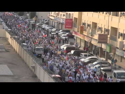 #Bahrain is the Capital Of Torture mass rally