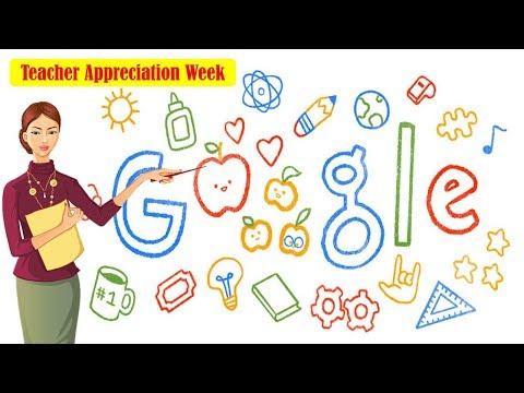 Teacher Appreciation Week 2019 Celebrations in US   Google Doodle