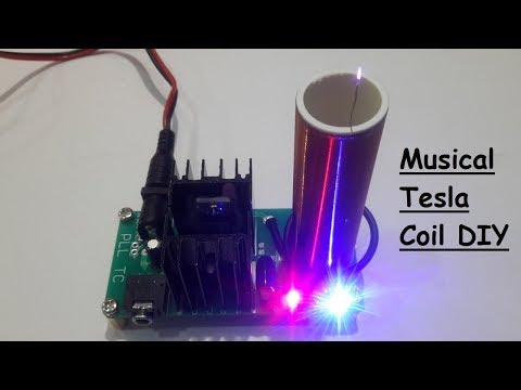 DIY Musical Tesla Coil Kit For 5$ - YouTube