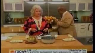 Today Show - Paula Deen Mishap