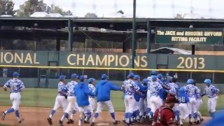 UCLA Walk-Off Win Over Washington State (Clinch 2016 opening PAC-12 series)