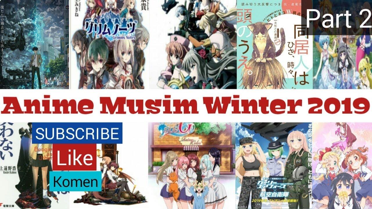 Anime Terbaru Di Bulan Januari 2019 Part 2 Youtube
