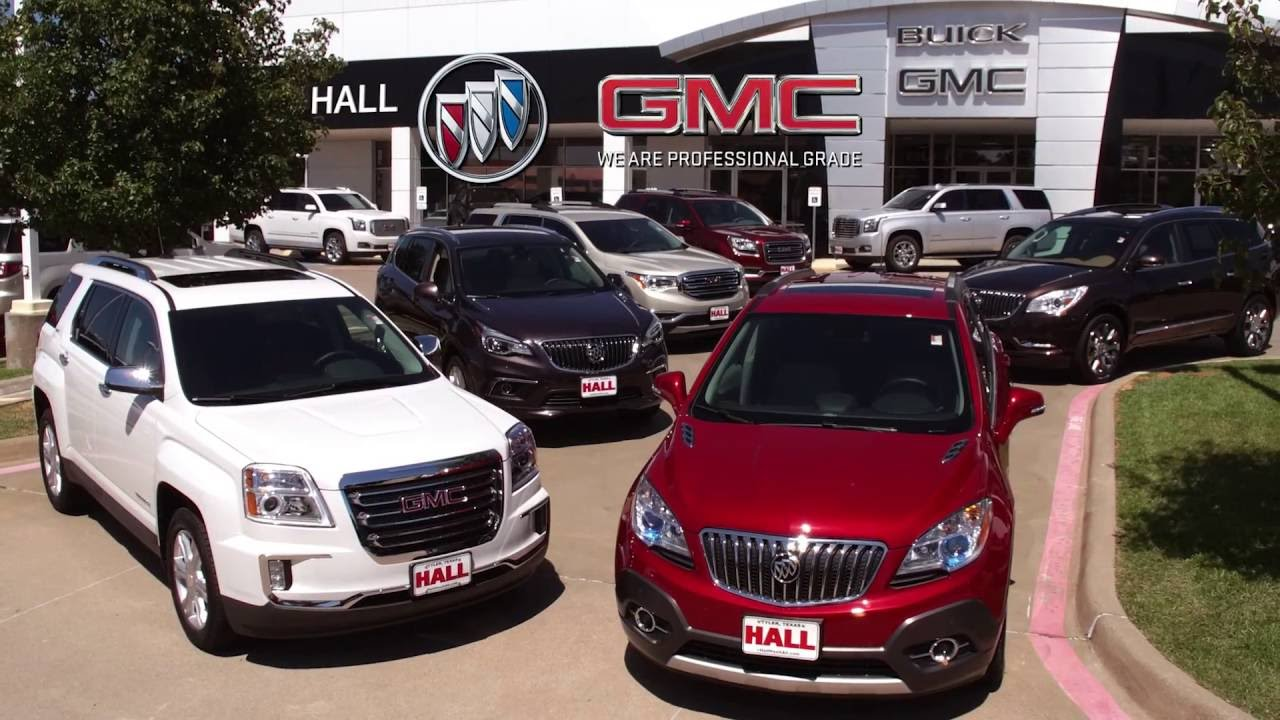 all new 2017 gmc acadia located at hall buick gmc tyler tx youtube. Black Bedroom Furniture Sets. Home Design Ideas
