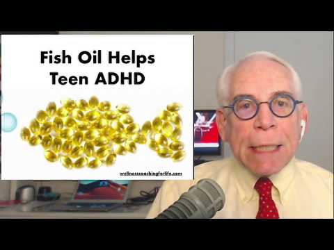 Fish Oil Helps ADHD