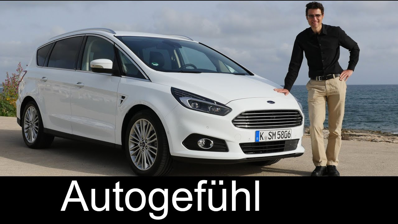all new ford s max 2016 mpv test driven full review. Black Bedroom Furniture Sets. Home Design Ideas