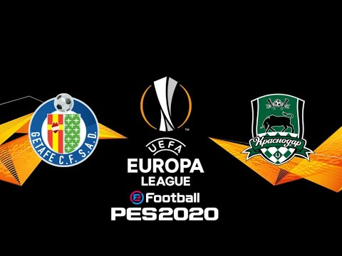 Getafe Cf Vs Krasnodar Fase De Grupos Europa League Pes 2020 5 Youtube