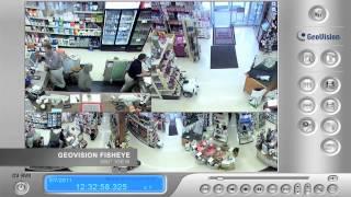 Caméra de sécurité GeoVision Fisheye  - DCI Sécurité Montréal