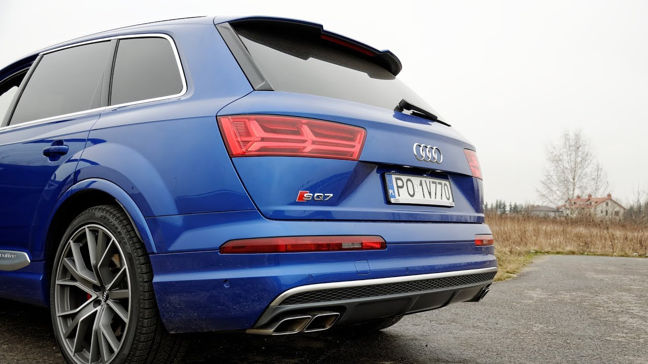 Audi Sq7 Sound Of 4 0 Tdi V8 Sel Engine 1001cars