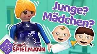JUNGE ODER MÄDCHEN? Chaos beim Einrichten des Babyzimmers Playmobil Film deutsch