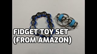 Duerger Fidget Toy Set (from Amazon) Unboxing and Review