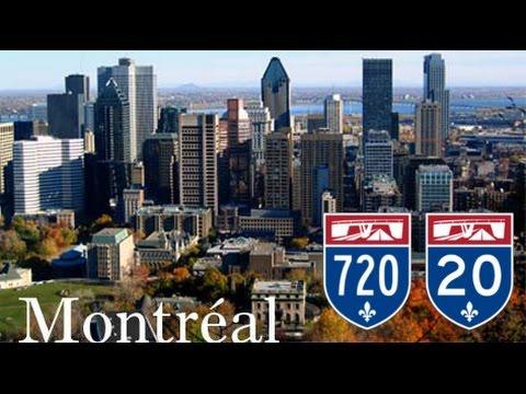 Montreal Freeways : Autoroute 20, 720, Turcot Interchange, Ville-Marie Tunnel