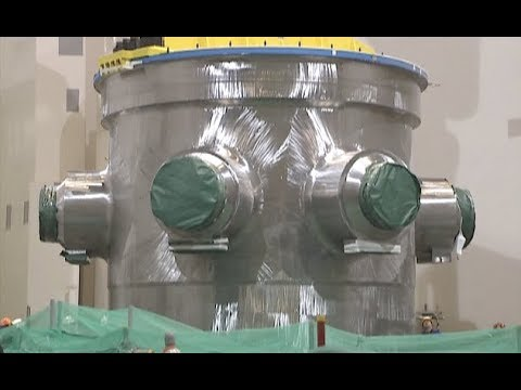 Installation Completed for Pressure Vessel of Hualong One Nuclear Power Unit