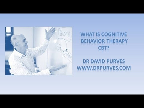 What is Cognitive Behavior Therapy?