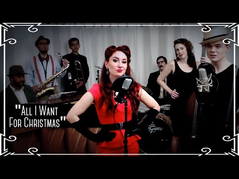 'All I Want For Christmas' (Mariah Carey) Jazz Cover by Robyn Adele Anderson feat. Von Smith