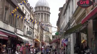 Boulogne-sur-Mer Cote d'Opale (France) - walk / Faites une visite HD