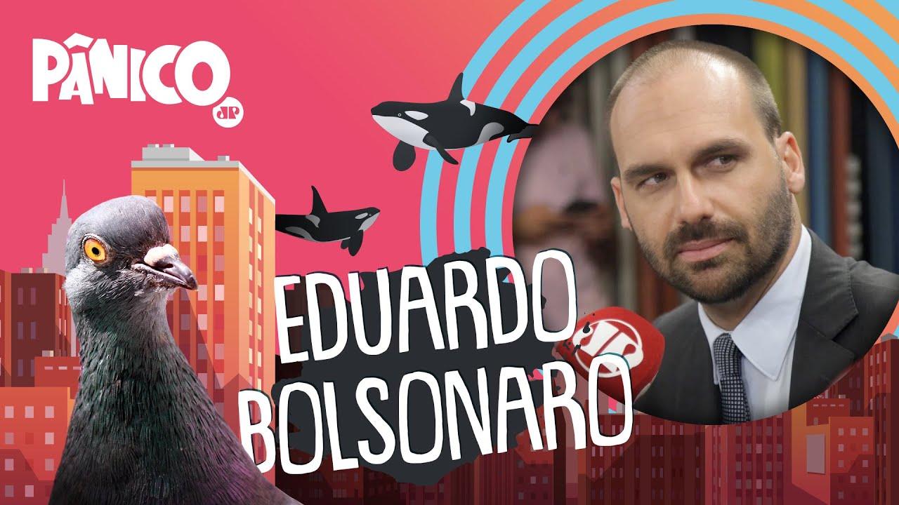 EDUARDO BOLSONARO - PÂNICO - AO VIVO - 13/08/20