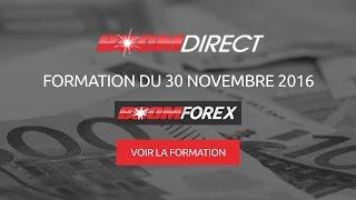 FORMATION #2 Boom Direct - Boom Forex   30 novembre 2016