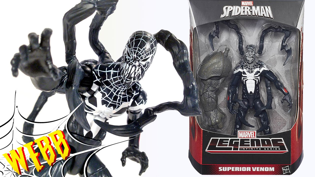 marvel legends spiderman infinite series superior venom