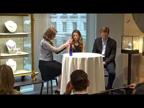 David Wildenstein and Lucrezia Buccellati talk about art jewelry market interviewed byJolyne Caruso