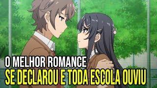 O MELHOR ANIME DE ROMANCE DA TEMPORADA - Seishun Buta Yarou wa Bunny Girl Senpai | EP 3