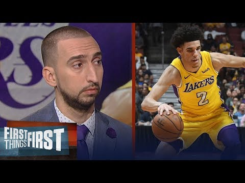 Nick Wright on Lonzo Ball: 'Rookie of the Year' that's a realistic expectation | FIRST THINGS FIRST