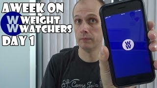 A Week On Weight Watchers DAY 1