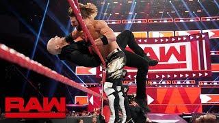 Seth Rollins & AJ Styles vs. Baron Corbin & Bobby Lashley: Raw, May 6, 2019