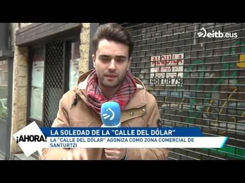 La 'calle del dólar' de Santurtzi, en declive