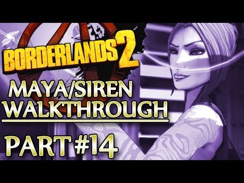 Ⓦ Borderlands 2 Maya/Siren Walkthrough - Part 14 ▪ Beating the Gluttonous Thresher
