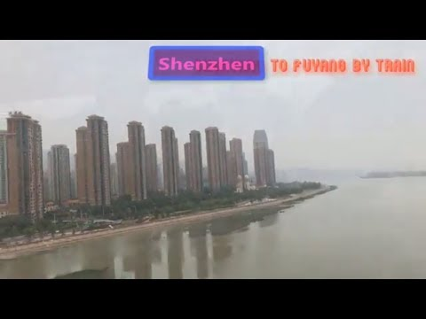 China Railway 中国铁路 - Traveling From Shenzhen to Fuyang by Train