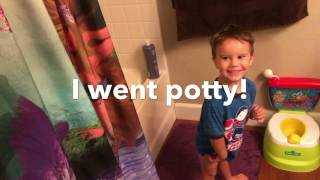 Potty Time With IMAGINEXT CAPTAIN KIDD, POWER RANGERS PRIZE RED AND YELLOW RANGERS