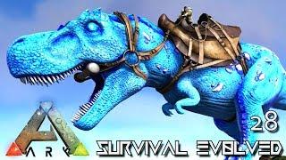 ARK SURVIVAL EVOLVED - NEW CELESTIAL REX LAVA GOLEM TAME E28 MOD ARK ETERNAL CRYSTAL ISLES