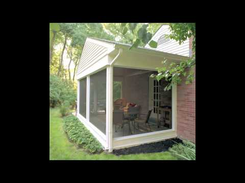 Screeneze installation video doovi for Scenix porch windows