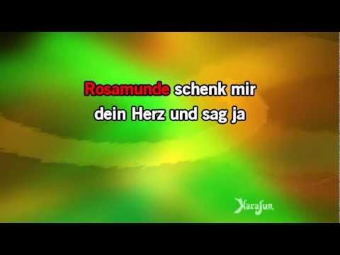 Karaoke Rosamunde (DE) - Dennie Christian *