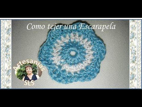 ♥ Como hacer una escarapela a crochet ♥ - YouTube