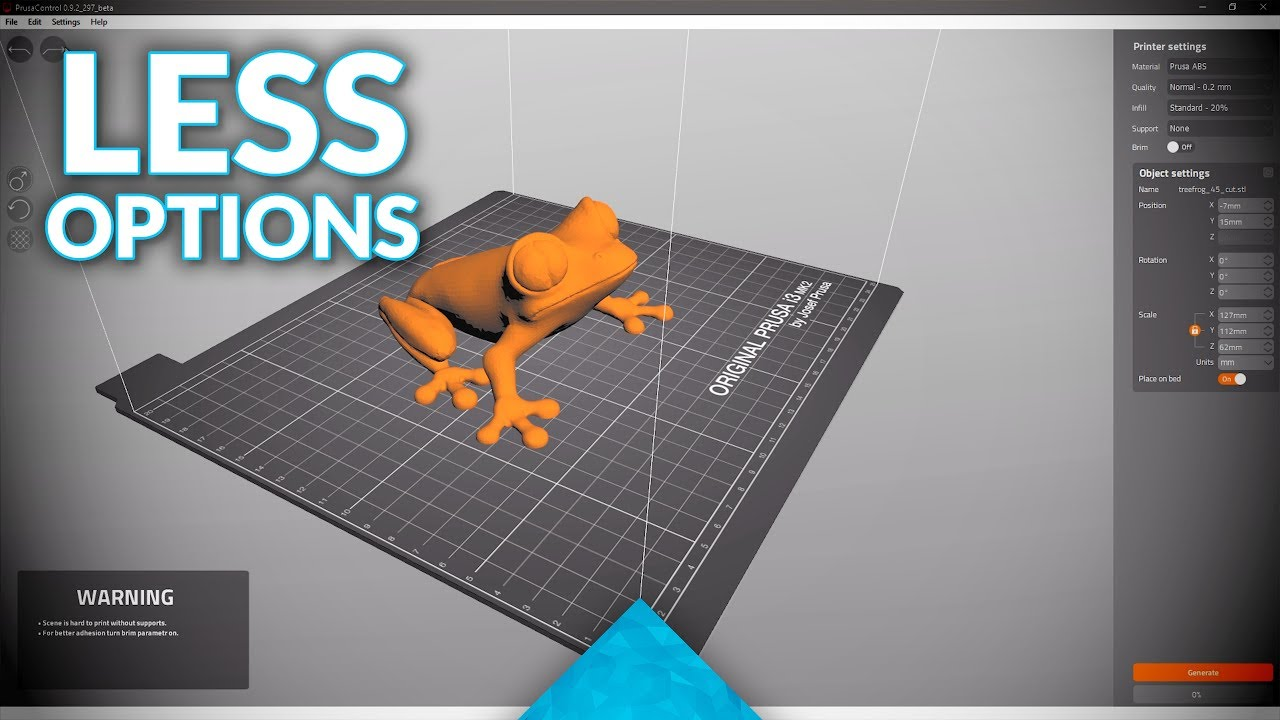 This will Simplify 3D Printing: Prusa Control to replace Slic3r?