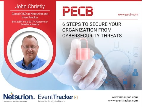 6 Steps to Secure Your Organization from Cybersecurity Threats