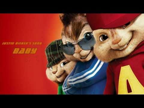 Alvin the chipmunk VS incredible Hulk (Justin's Bieber songs)