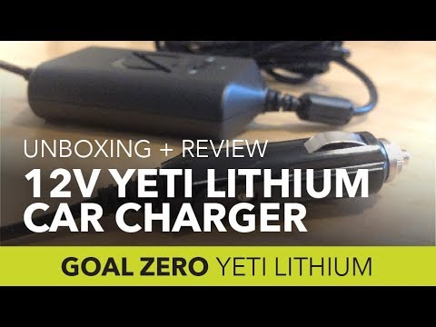 12v Car Charger for Goal Zero Lithium: Unboxing & Review